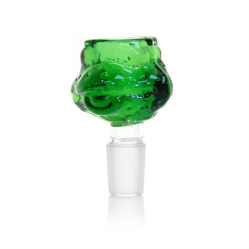 Turtle Green Glass Bong Bowl 14mm
