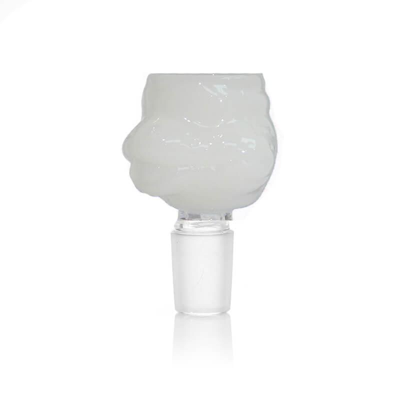 Turtle White Glass Bong Bowl 14mm