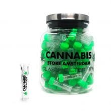 Glass filter tips Cannabis Store Amsterdam (100pcs/display)