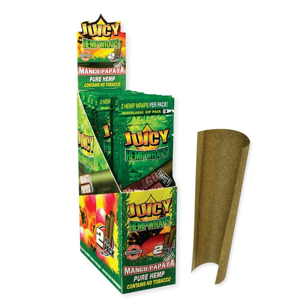 Juicy Jay's Hemp Wraps Blunt Manic (25pcs/display)