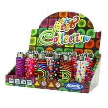 Atomic silicon cover 3D lighters punk universe (24pcs/display)