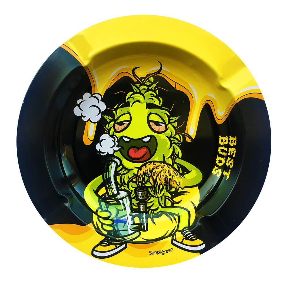 Best Buds - Dab-All-Day Metal Ashtray