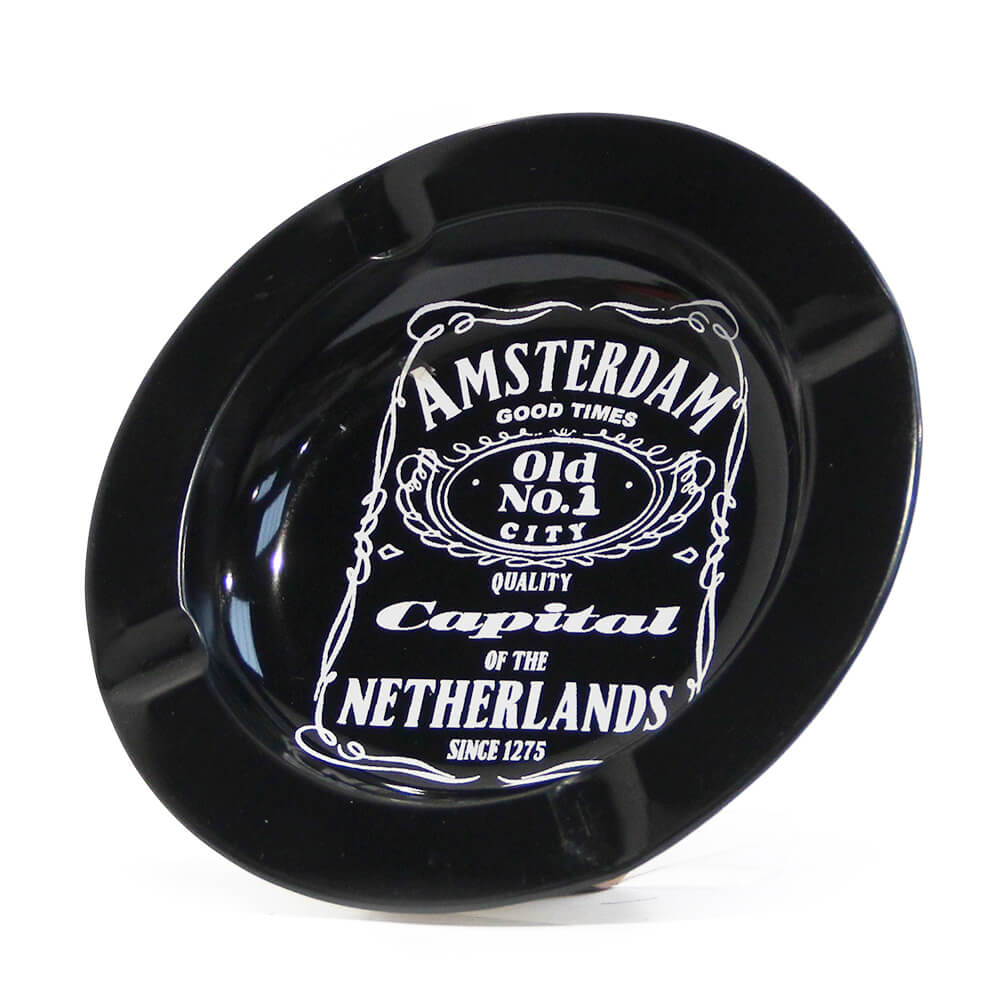 Amsterdam Daniel's Menu Metal Ashtray