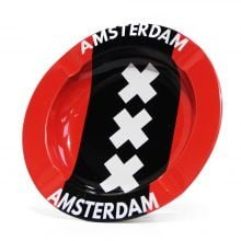 Amsterdam XXX Flag Metal Ashtray