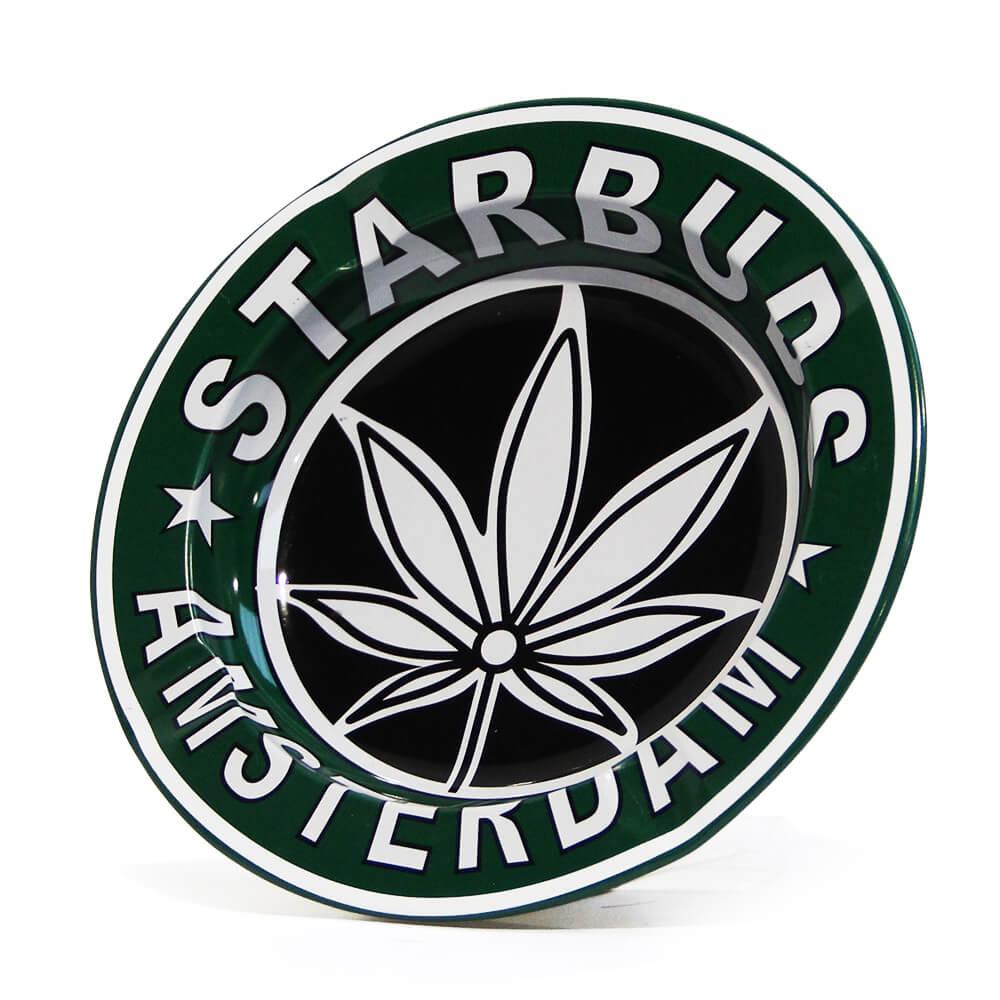 Starbuds Amsterdam Metal Ashtray