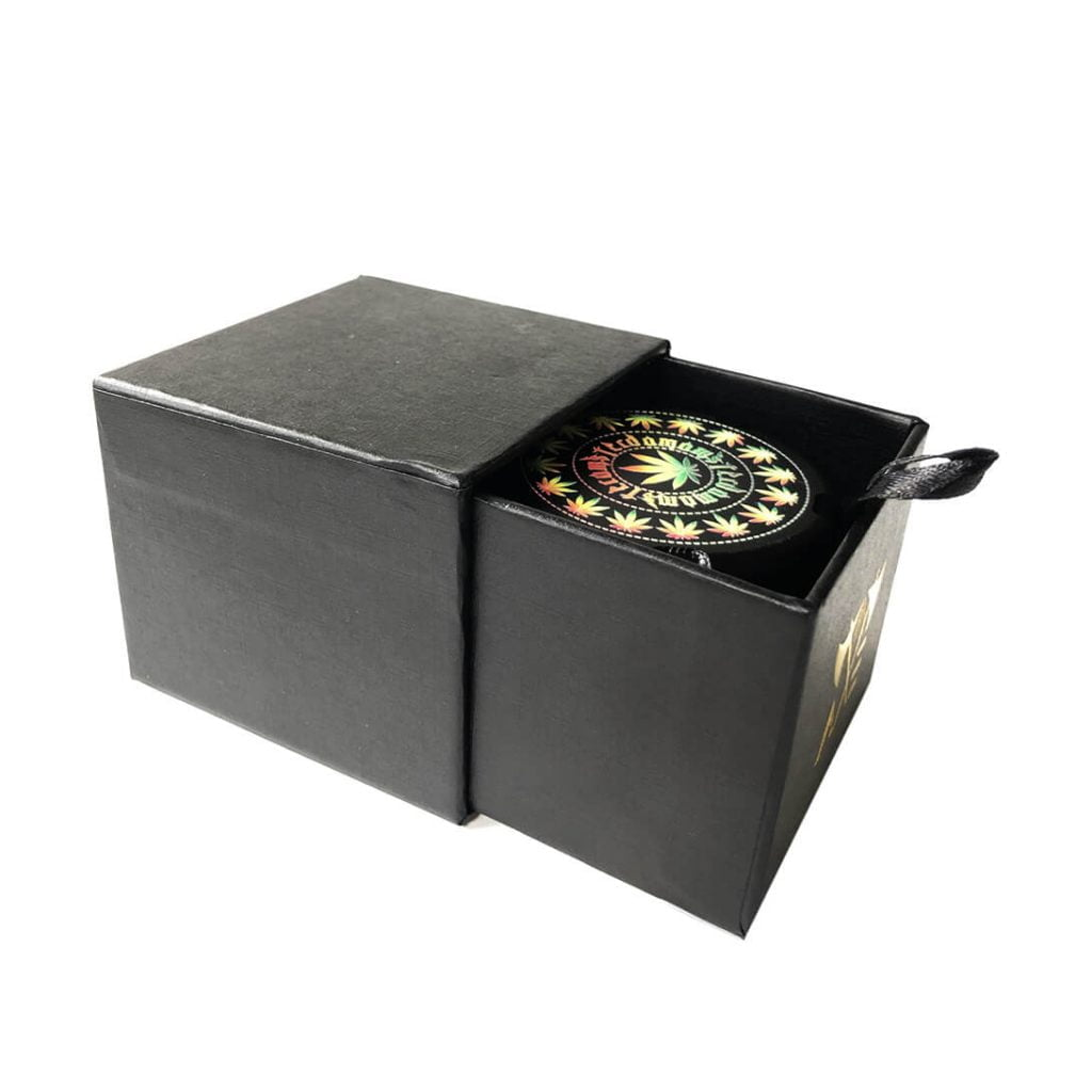 AXE Premium Fully CNC Aluminium Grinder Limited Edition + Luxury Giftbox Black (10pcs/display)