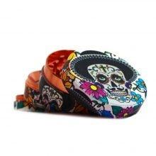 Mexican Skulls Metal Grinders 52mm - 4 parts (6pcs/display)