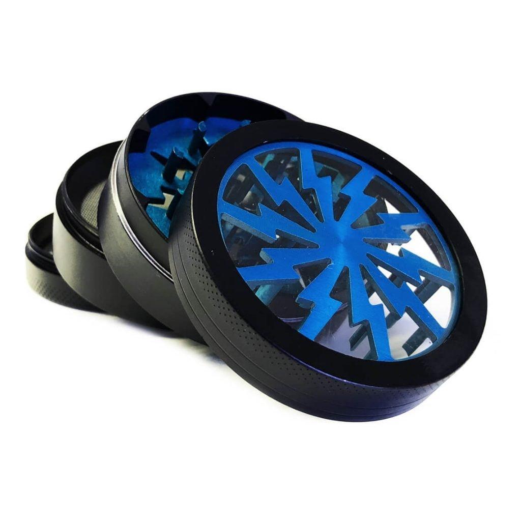 Storm big blue aluminium grinder 63mm (6pcs/display)