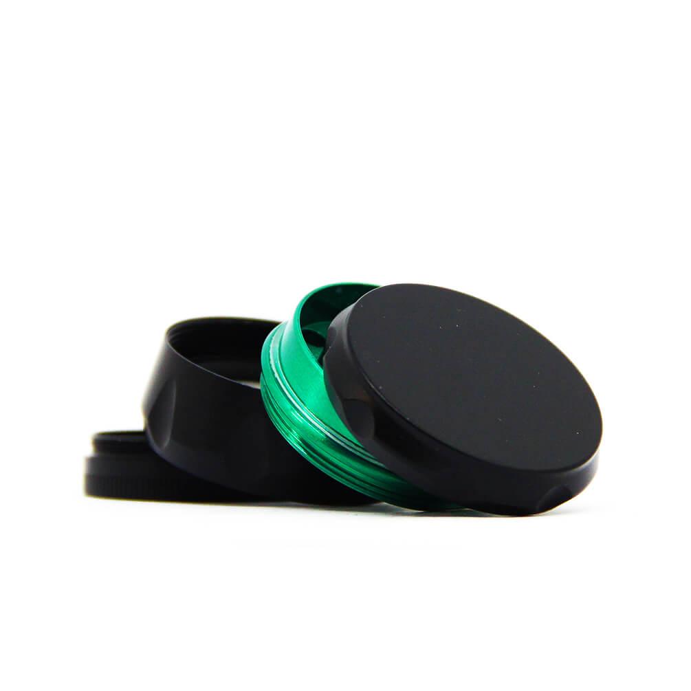 OUT Mixed color metal grinder 44mm - 4 parts (12pcs/display)