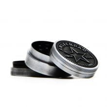 Amsterdam star small metal grinder 40mm - 3 parts (12pcs/display)