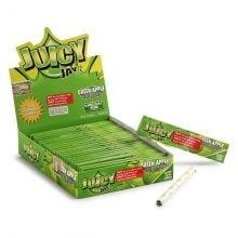 Juicy Jay kingsize green apple rolling papers (24pcs/display)