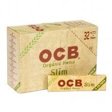 OCB Organic Hemp Kingsize Rolling Papers + Filter Tips (32pcs/display)