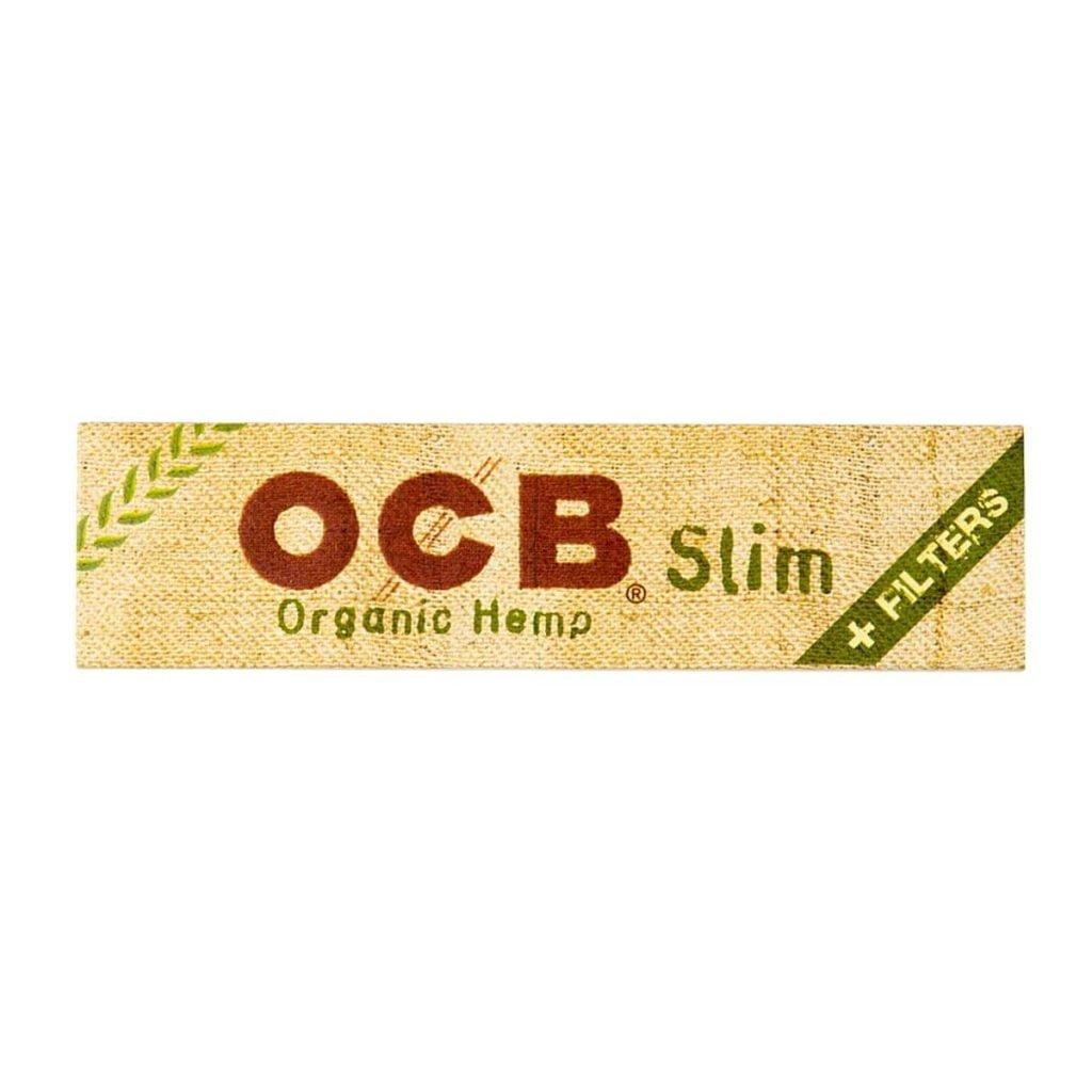 OCB Organic Hemp Kingsize Rolling Papers + Filter Tips (32pcs/display)