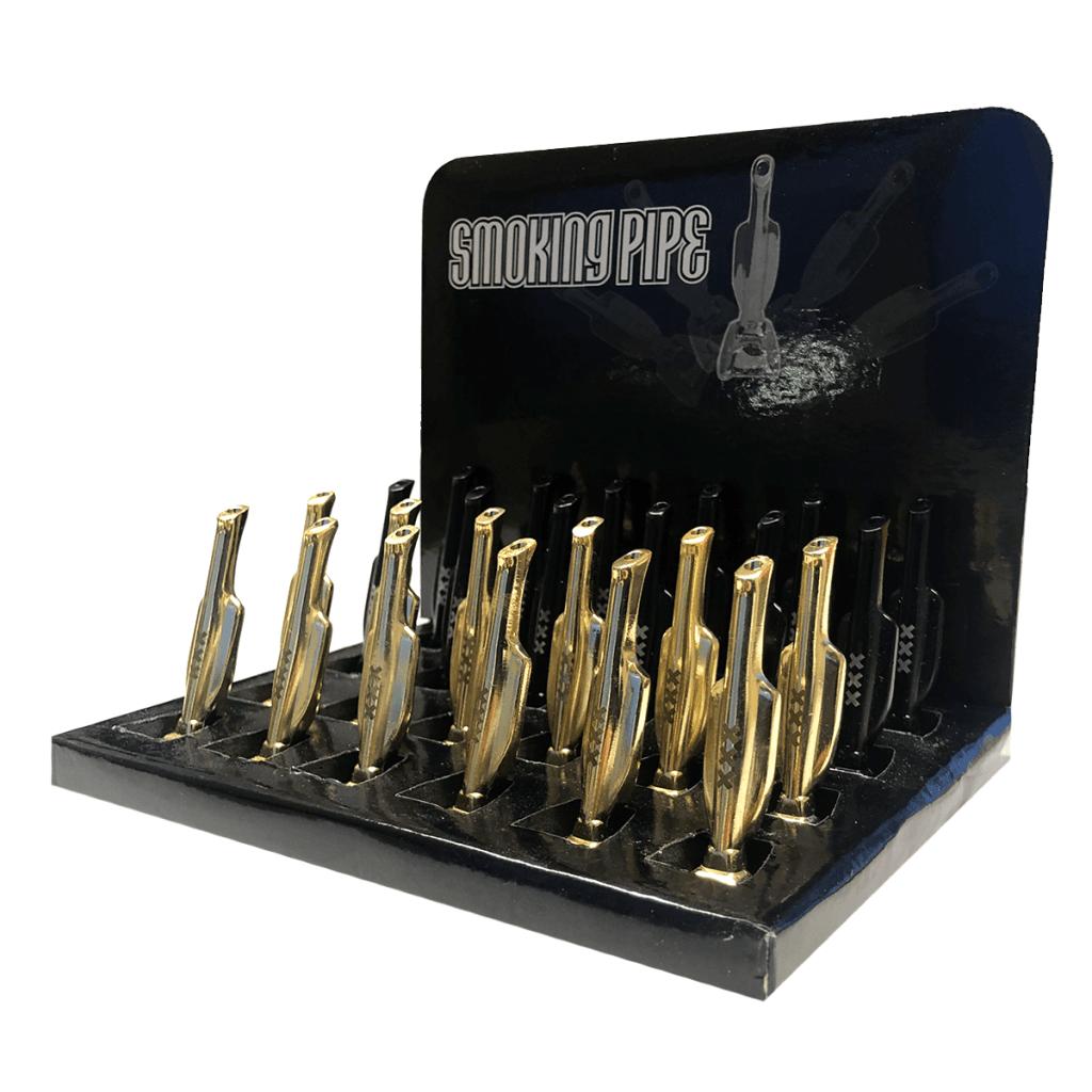 Metal vacuum cleaners powders display (24pcs/display)