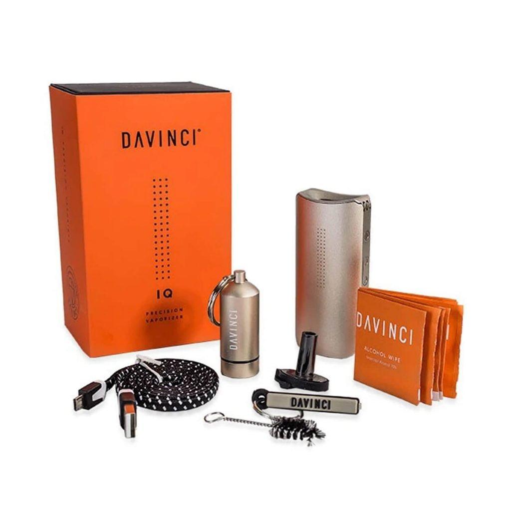 DaVinci IQ Dry Herbs Vaporizer (Black)