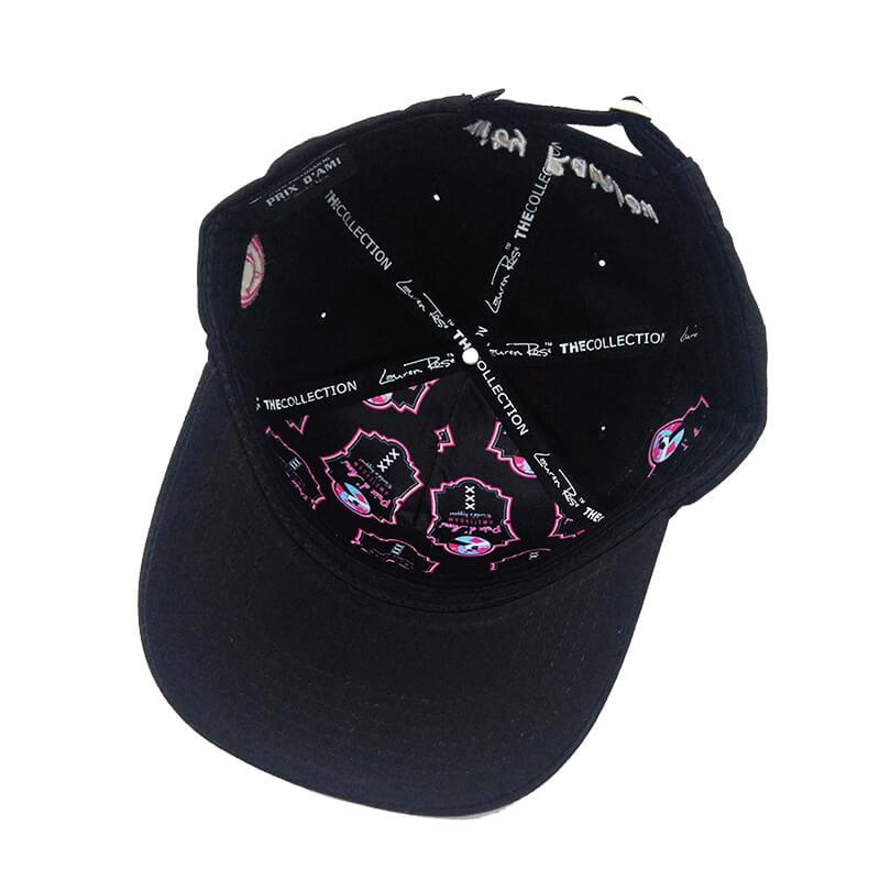Lauren Rose - Zkittles Black + built-in stash 420 Hat