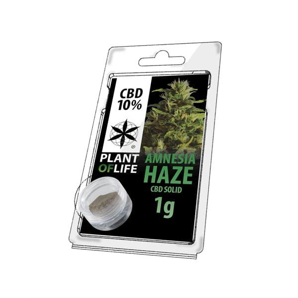 Plant of Life CBD Solid 10% Amnesia Haze (1g)