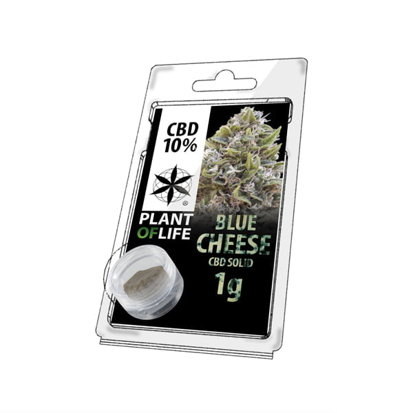 Plant of Life CBD Solid 10% Blue Cheese (1g)