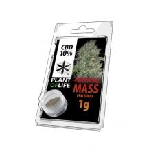 Plant of Life CBD Solid 10% Critical Mass (1g)