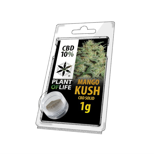 Plant of Life CBD Solid 10% Mango Kush (1g)