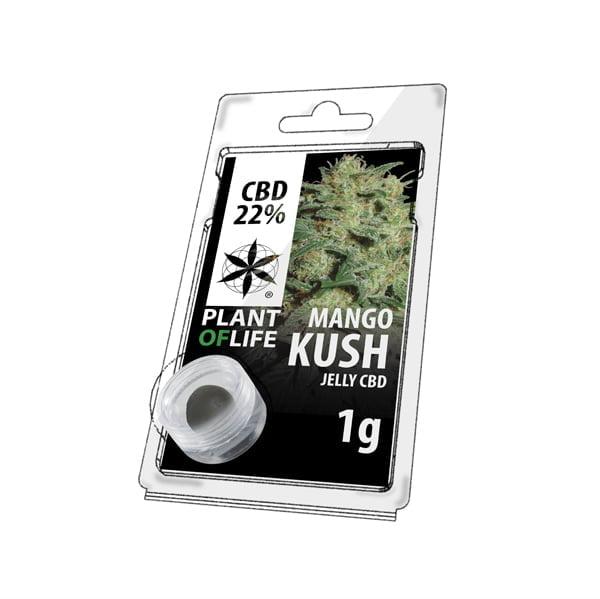 Plant of Life CBD Jelly 22% Mango Kush (1g)