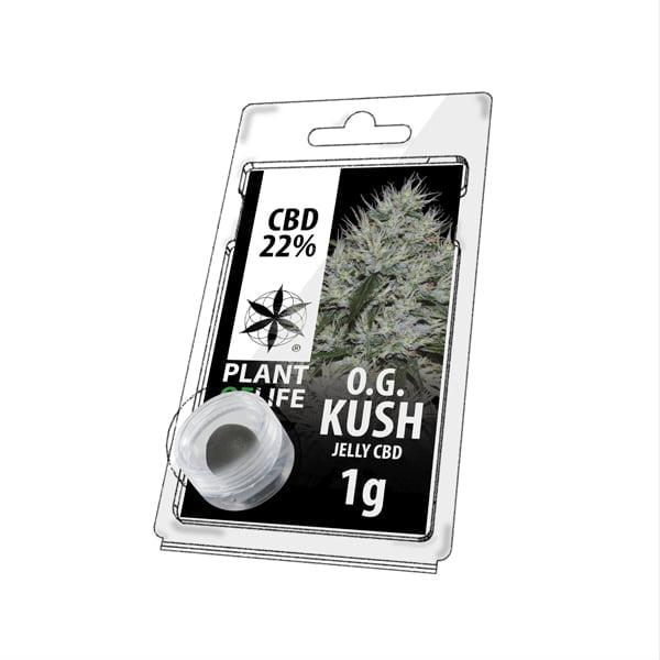 Plant of Life CBD Jelly 22% OG Kush (1g)
