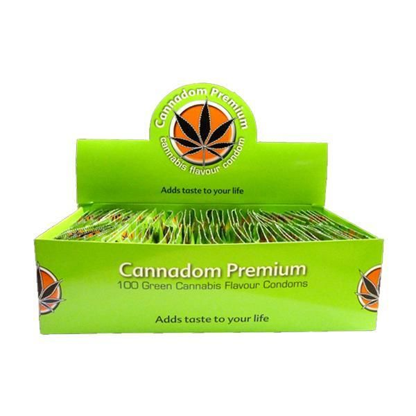 Cannabis Condoms Marijuana Flavoured (100condoms/pack)