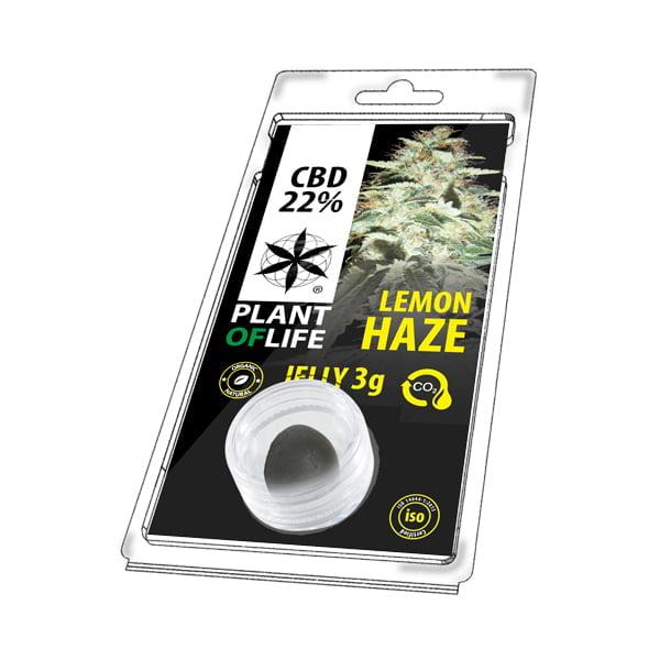 Plant of Life CBD Jelly 22% Lemon Haze (3g)