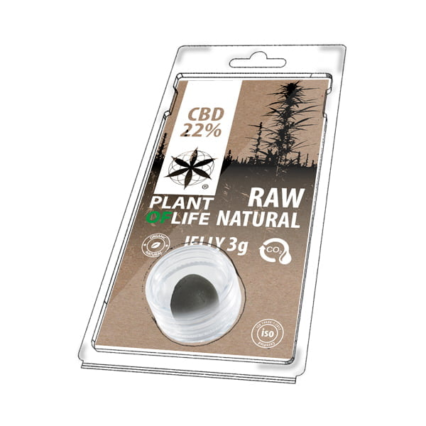 Plant of Life CBD Jelly 22% Natural (3g)