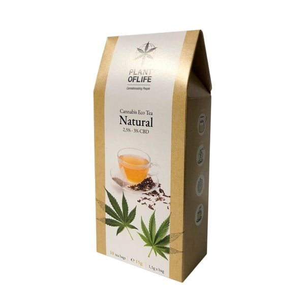 Plant of Life 2.5%-3% CBD Infusion Tea Natural