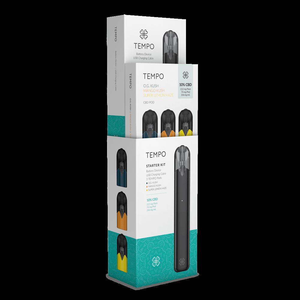 Harmony TEMPO Originals Kit Battery + 3 Pods - per unit