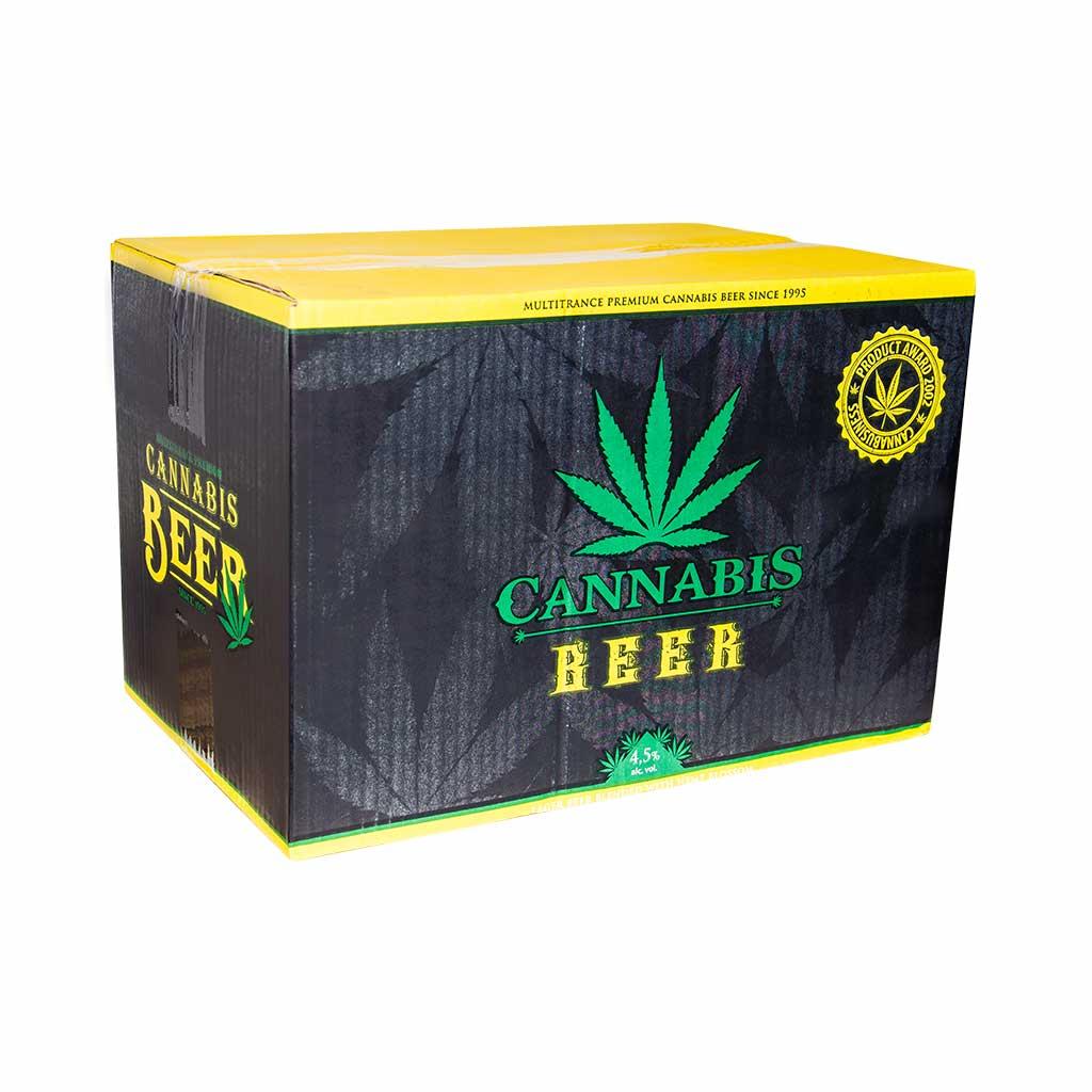 Cannabis Flavoured Beer Gold Leaf 330ml - 4.5% Alc. (24bottles/masterbox)