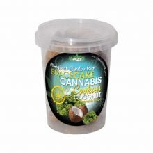 Cannabis Cookies Box Coconut Flavour THC Free 150g (24box/masterbox)