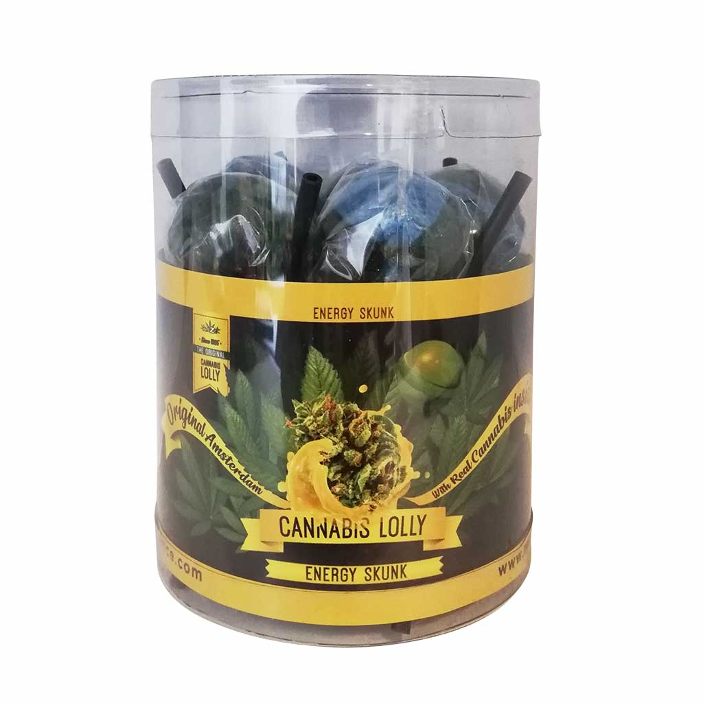 Cannabis Lollipops Skunk Flavour Giftbox 10pcs (24packs/masterbox)