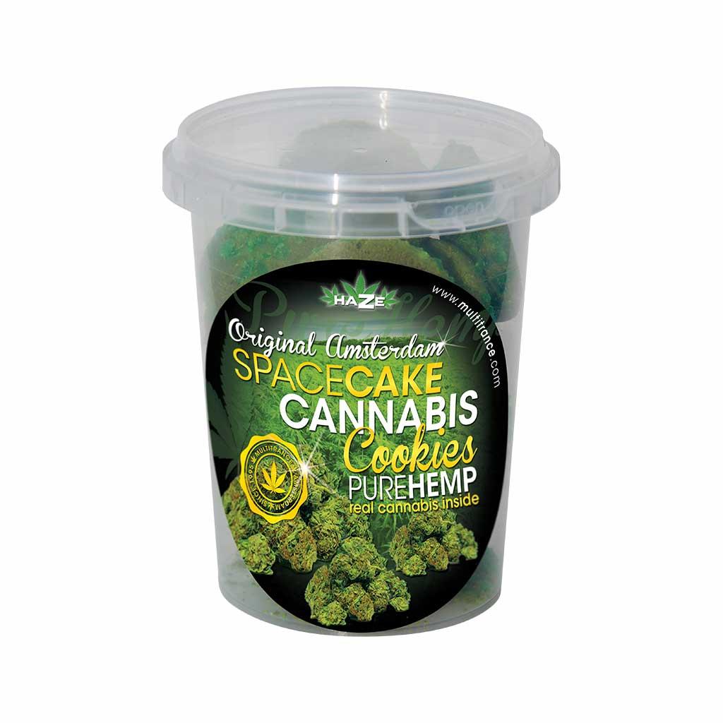Cannabis Cookies Box Pure Hemp Flavour THC Free 150g (24box/masterbox)