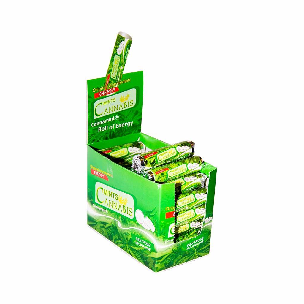 Cannabis Dextrose Mint Roll Tablets (48pcs/display)
