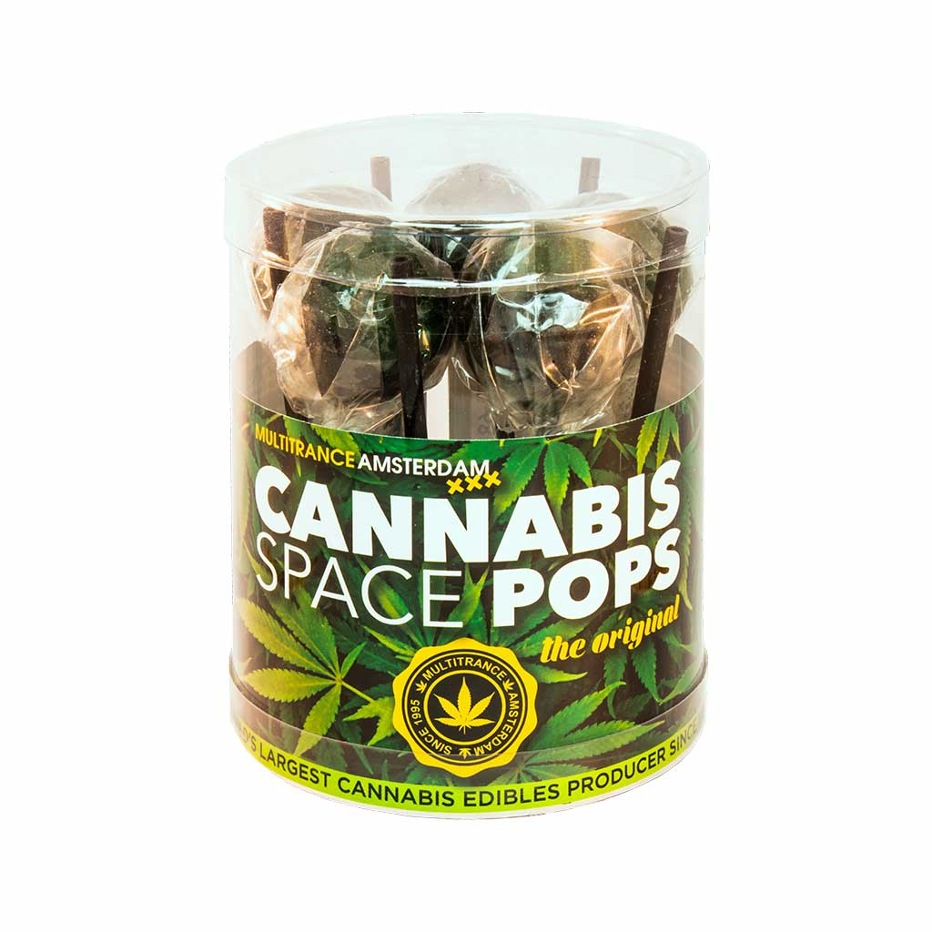 Cannabis Lollipops Space Pop Giftbox 10pcs (24packs/masterbox)