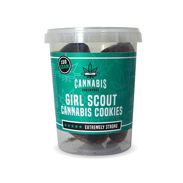 Cannabis Cookies Girl Scout Cookies THC Free 150g (24boxes/masterbox)