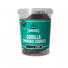 Cannabis Cookies Gorilla THC Free 150g (24boxes/masterbox)