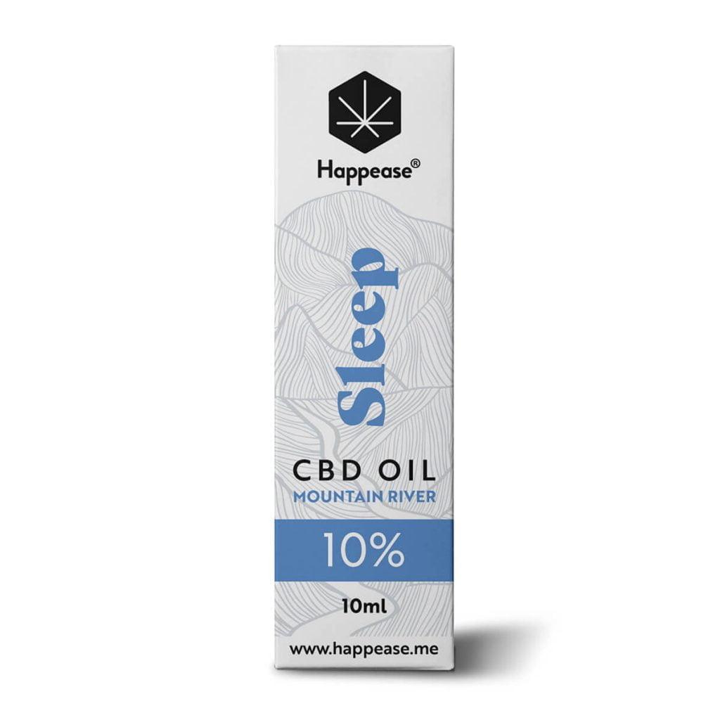 Happease® Sleep 10% CBD Oil Mountain River (10ml)