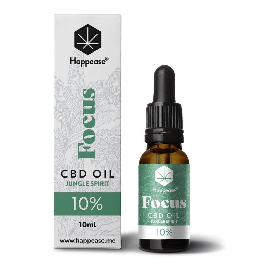 Happease® Focus 10% CBD Oil Jungle Spirit (10ml)