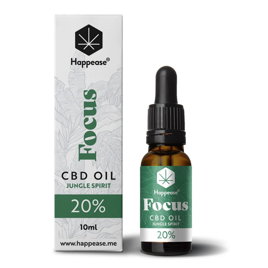 Happease® Focus 20% CBD Oil Jungle Spirit (10ml)