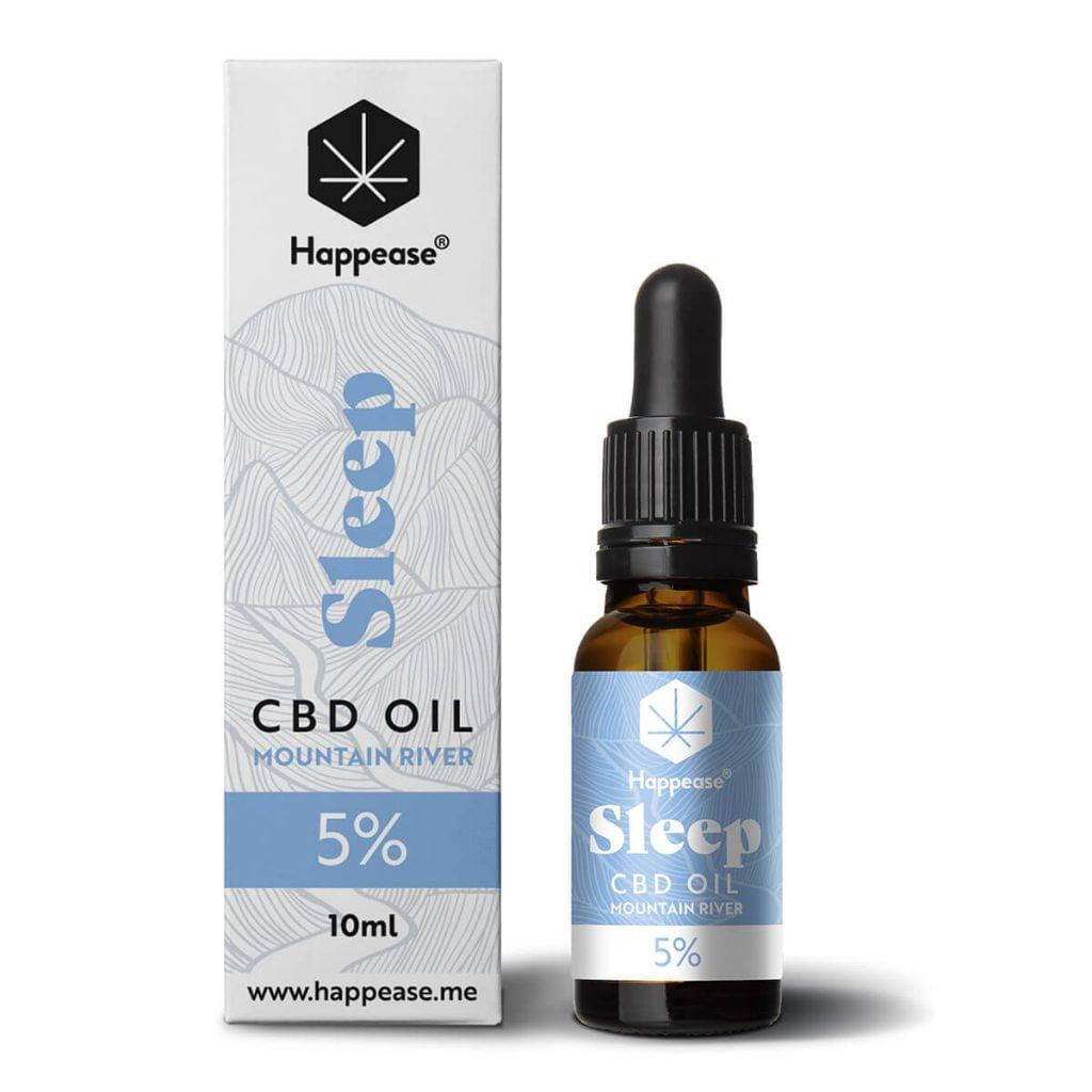 Happease® Sleep 5% CBD Oil Mountain River (10ml)