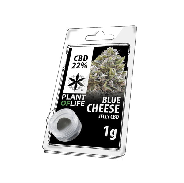 Plant of Life CBD Jelly 22% Blue Cheese (1g)