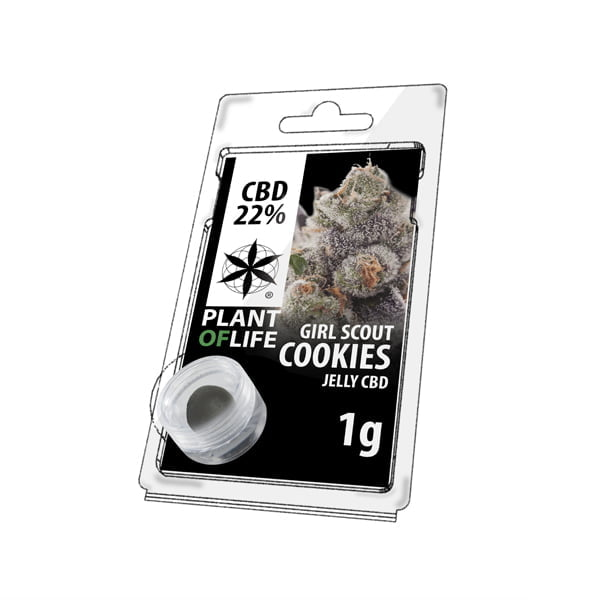 Plant of Life CBD Jelly 22% Girl Scout Cookies (1g)