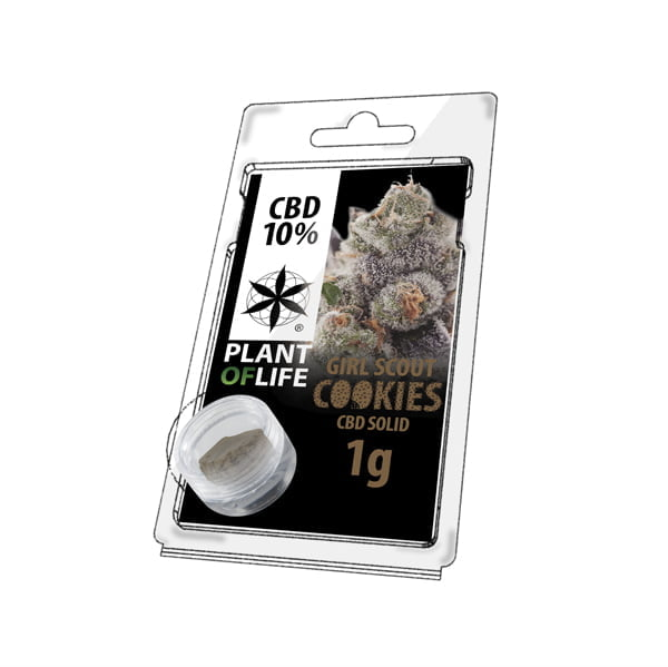 Plant of Life CBD Solid 10% Girl Scout Cookies (1g)