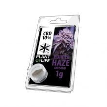 Plant of Life CBD Solid 10% Purple Haze (1g)