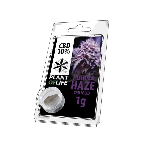 Plant of Life CBD Solid 10% Purple Haze (1g)