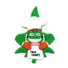 Hempy the Chef Silicon Cannabis 3D Magnet