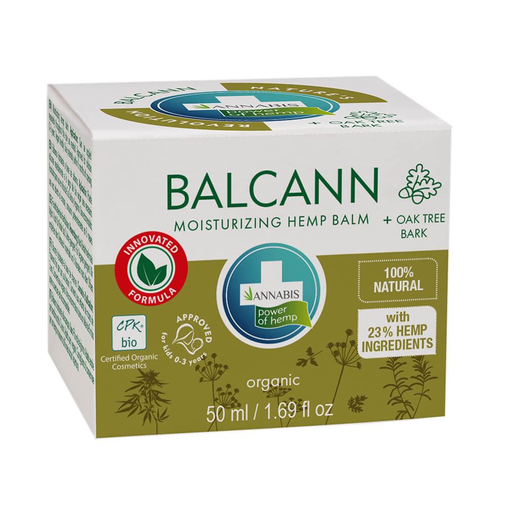 Annabis Balcann Moisturizing Hemp Balm with Oak Tree Bark (50ml)